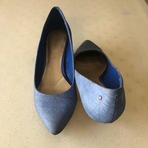 Featured 💙 Blue Kitten Heels Size 8